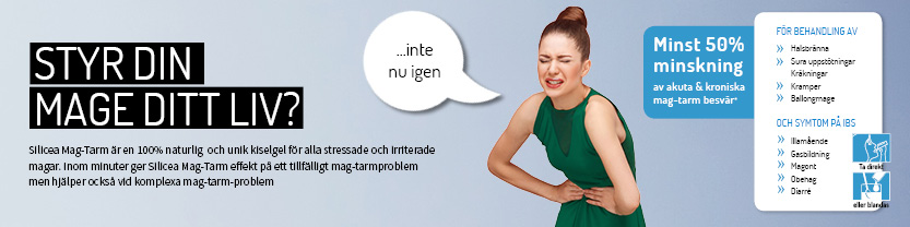 Kvinna ont i magen